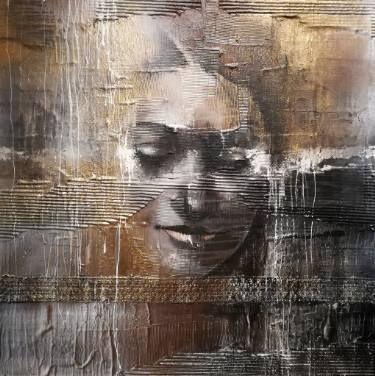 "Saatchi Art Artist Donatella Marraoni; Painting, ""I'm gold"" #art"