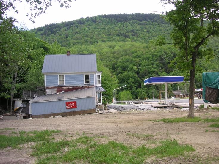 ..: Irene 2011, Hurricane Irene, Vermont Devast