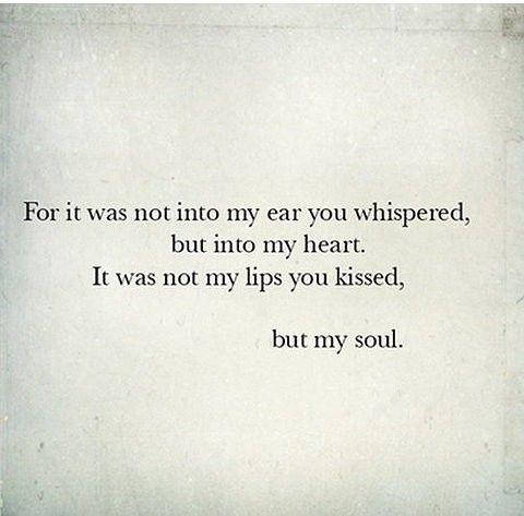 :: heart whispering