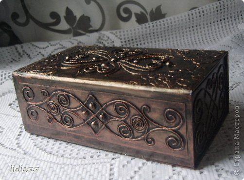Добрый день Страна Мастеров и Мастериц!!!представляю на ваш суд очередную коробочку,выполненную в технике пейп арт Тани Сорокиной http://stranamasterov.ru/node/308701  фото 2