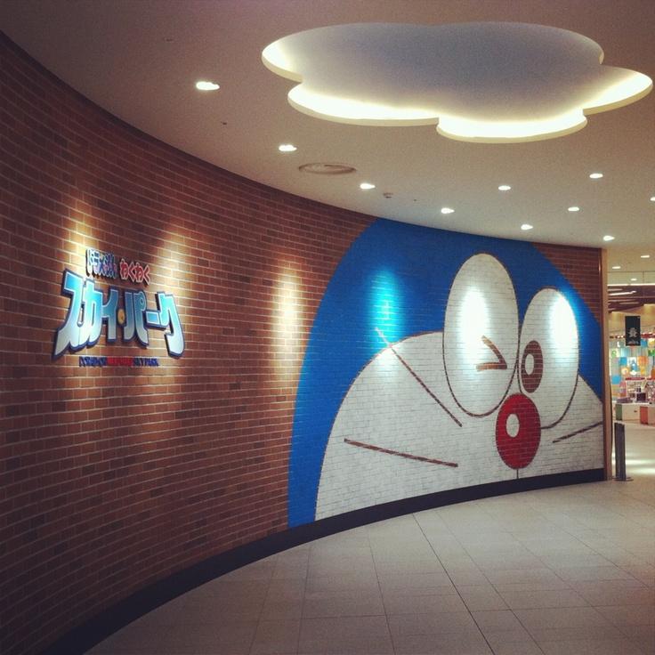 DORAEMON in Shinchitose Airport