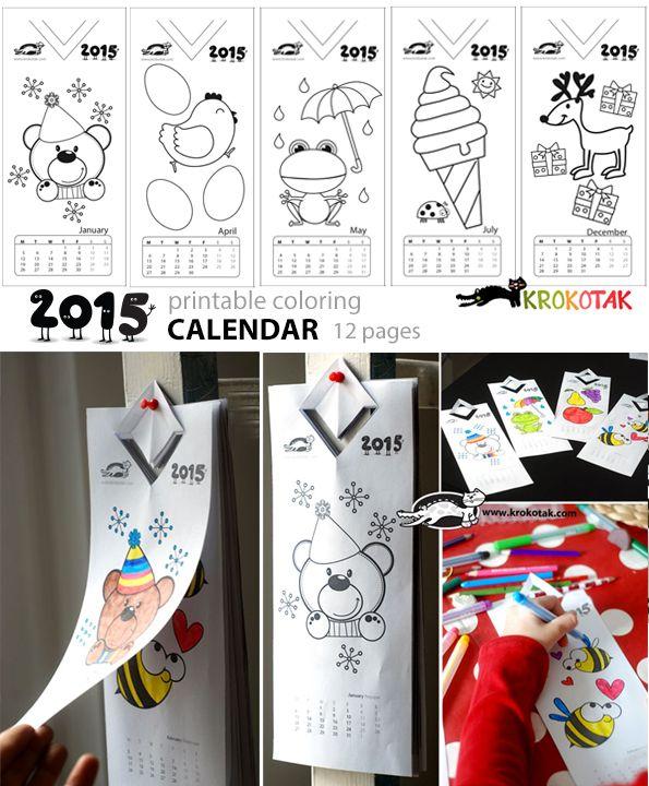Actiludis: Calendario Infantil 2015