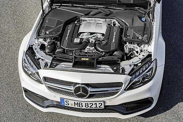 2018-2019 Mercedes-Benz C63 AMG Coupe