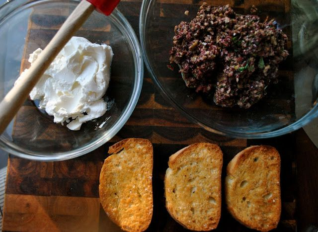 Olive Tapenade And Goat Cheese Crostini Recipes — Dishmaps