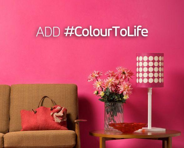 Love Pink? #ColourToLife
