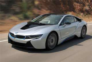 Powered by a sophisticated plug-in hybrid drivetrain, the BMW i8 blends a 170kW three-cylinder turbo petrol engine with a 96kW electric motor that combine to offer 266kW of power and fuel efficiency of just over 2.1L/100km.