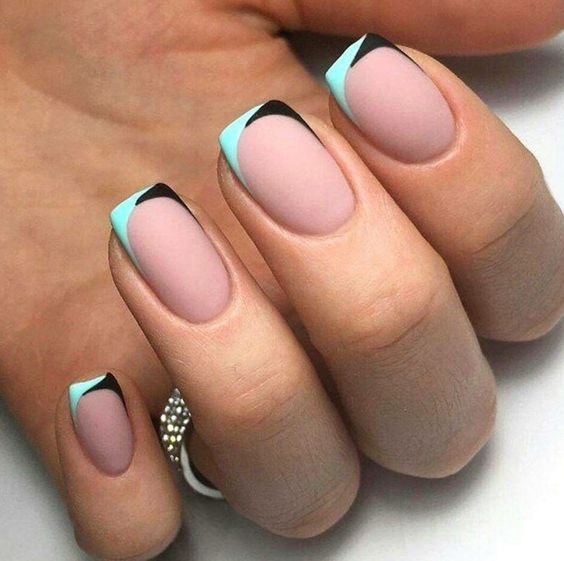 30 Funky And Trendy Nail Art Designs For 2014: 6339 Best Funky French Tip Nails Images On Pinterest