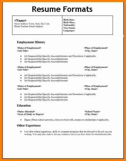 Cashier Resume Format Download Resume Format For Freshers Ece