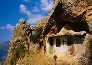 Refuge d'un ermite sur le mont Athos Agion Oros,Grèce
