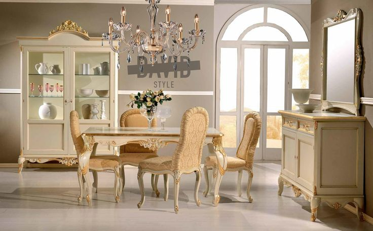 Dining room baroque Sala da pranzo barocco #diningroombaroque #luxurybaroque #salapranzobarocco #arredamentolusso