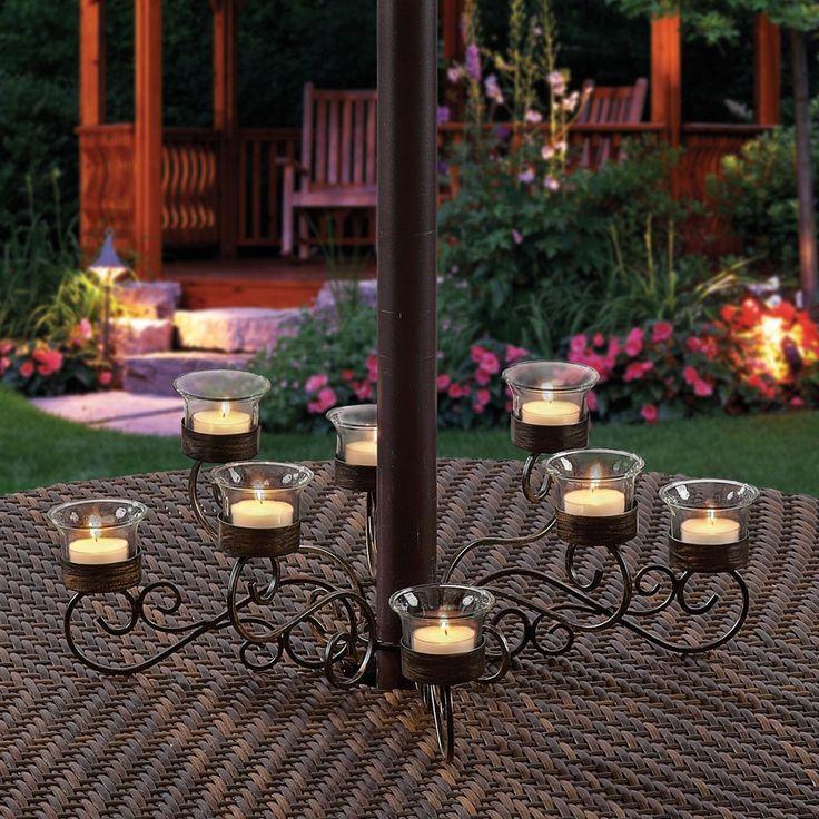 Lanterns: Candle, Solar U0026 Battery Operated. Patio LightingEvent  LightingUmbrella ...