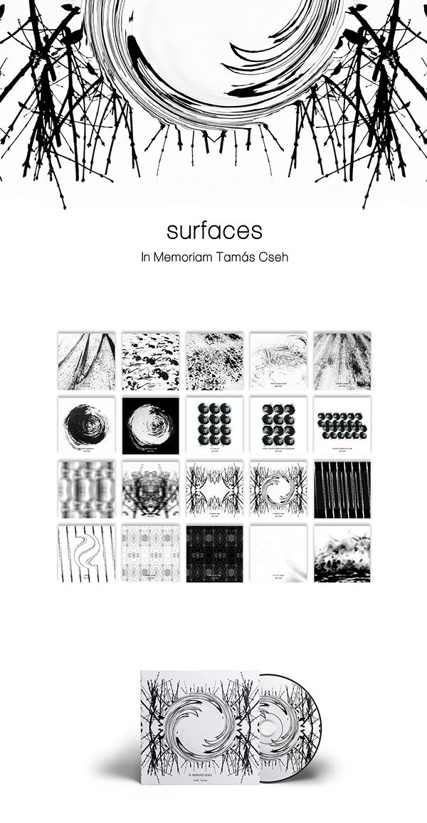 surfaces - art project in memoriam Tamás Cseh