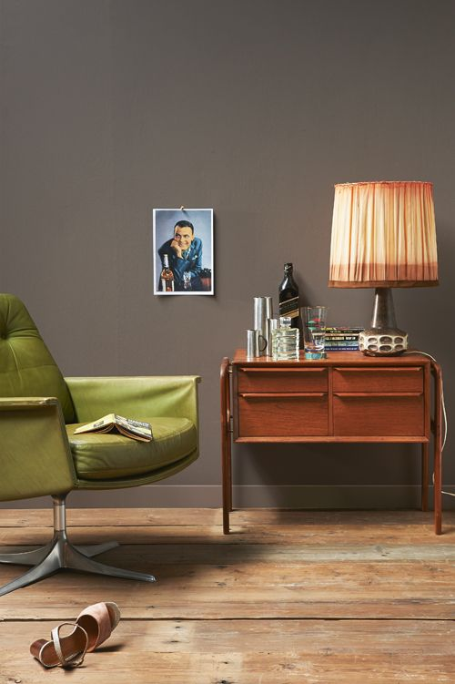Typical retro #sixties #chair #interior | Styling Fietje Bruijn, fotografie Dennis Brandsma