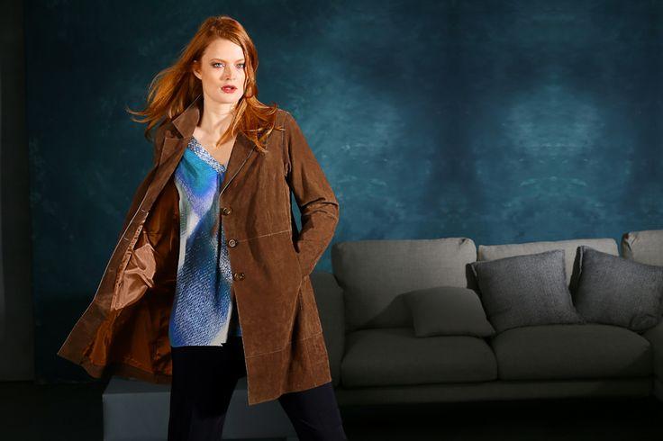 Exklusive Mode in Größen 42bis 64 von selection by Ulla Popken #exklusiv #damenmode #businessmode #plussize #elegant #style #fashion #jacket #plussizestyle #jacke