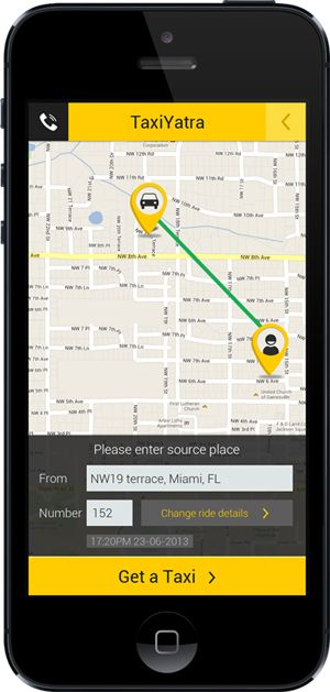 Taxi App for travel