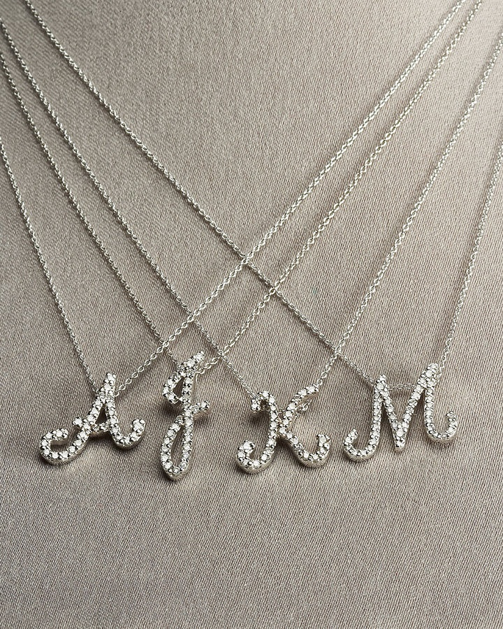 7 best j is for jewelry images on pinterest initial pendant roberto coin diamond initial pendants aloadofball Gallery