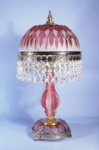 Kristall Lampe Restauriert Von Lampinolights Auf DaWanda