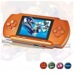 """ORANGE 2.8"""" LCD Portable Game Console With AV-Out And TONS of Built-In Games, Game Disk Included - Best Gift for Kids    Product sku: 124Availability: 1Price: $39.99"""