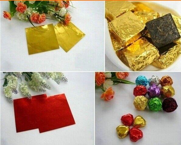 压纹铝箔纸 8*8cm包巧克力锡纸 糖果棒棒糖包装纸 1元10张-淘宝网