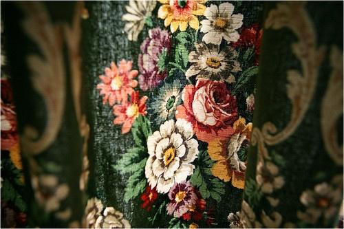 Vintage SANDERSON lined linen curtains | eBay