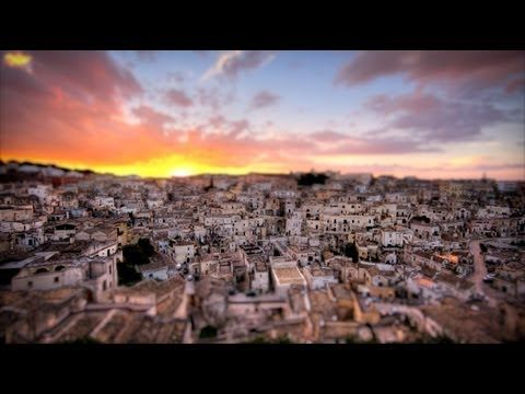 DigitalDiaryItaly  A miniature day in the life of Sassi di Matera, Italy.  By Timmy Henny