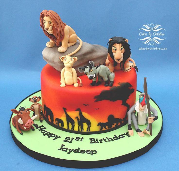 109 Best Disney S Lion King Cakes Images On Pinterest
