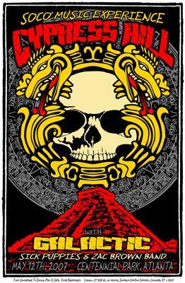 Cypress Hill, Galactic, Zac Brown Band