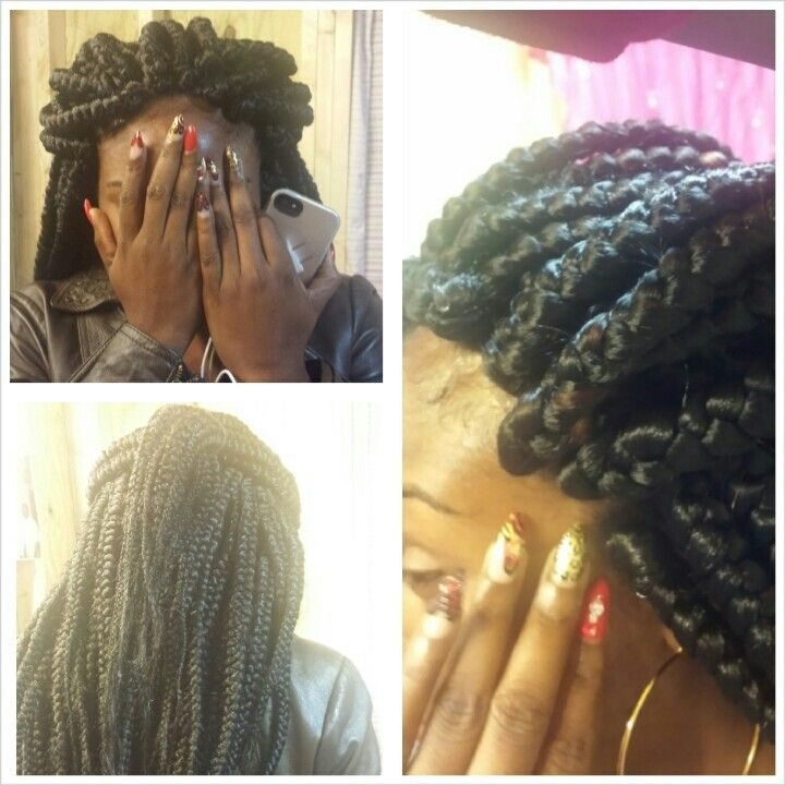 Poetic Justice Braids by me!!! | Senegalese Twist ( JUMBO ...
