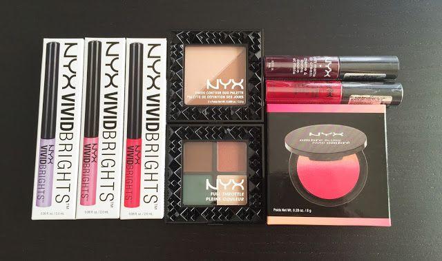 KATRIN DEL MAR: Розыгрыш #2. 8 продуктов бренда NYX.