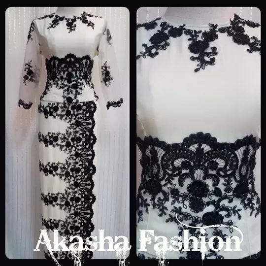 Myanmar lace dress