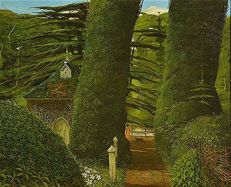 A Scene in Surrey by John Shelley