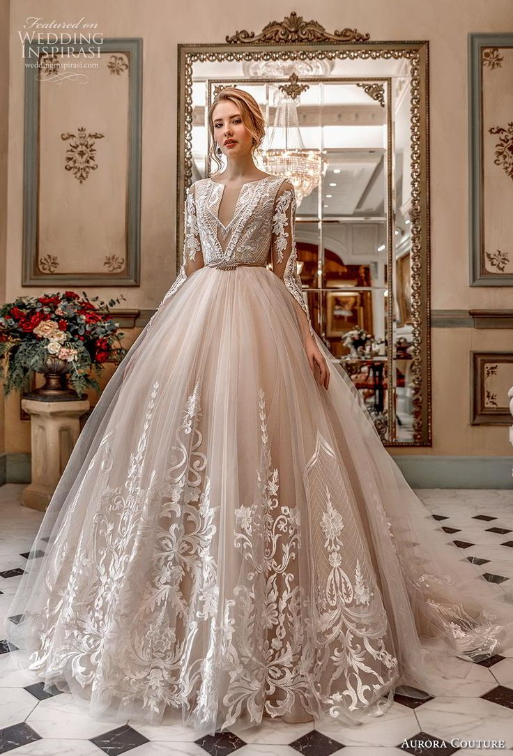 """Aurora Couture 2019 Wedding Dresses — """"Russian Glory"""" Bridal Collection"""