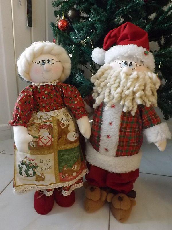 Casal de Papai e Mamãe Noel!