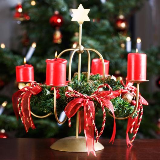 Centros de mesa navide os navidad pinterest navidad - Centros navidenos de mesa ...