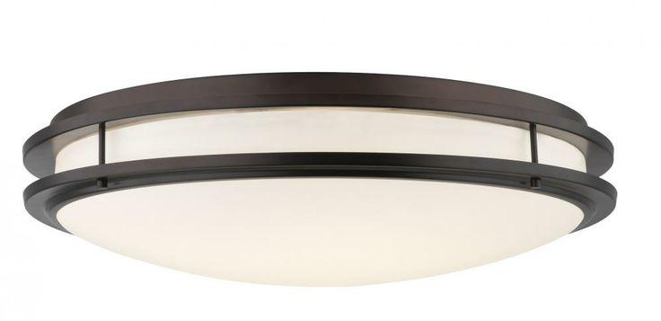 Two Light Merlot Bronze Bowl Flush Mount : SKU V24 ...