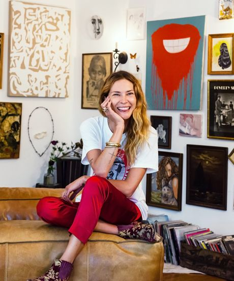 Boho Apartment Envy! Inside Erin Wasson's Chill Venice Pad #refinery29  http://www.refinery29.com/erin-wasson-home-tour