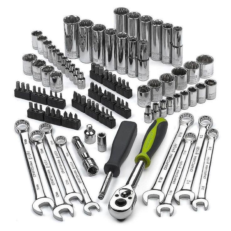 Craftsman Socket Set Deep Sockets Wrenches Screwdrivers Mechanics Tool Kit NEW  #Craftsman