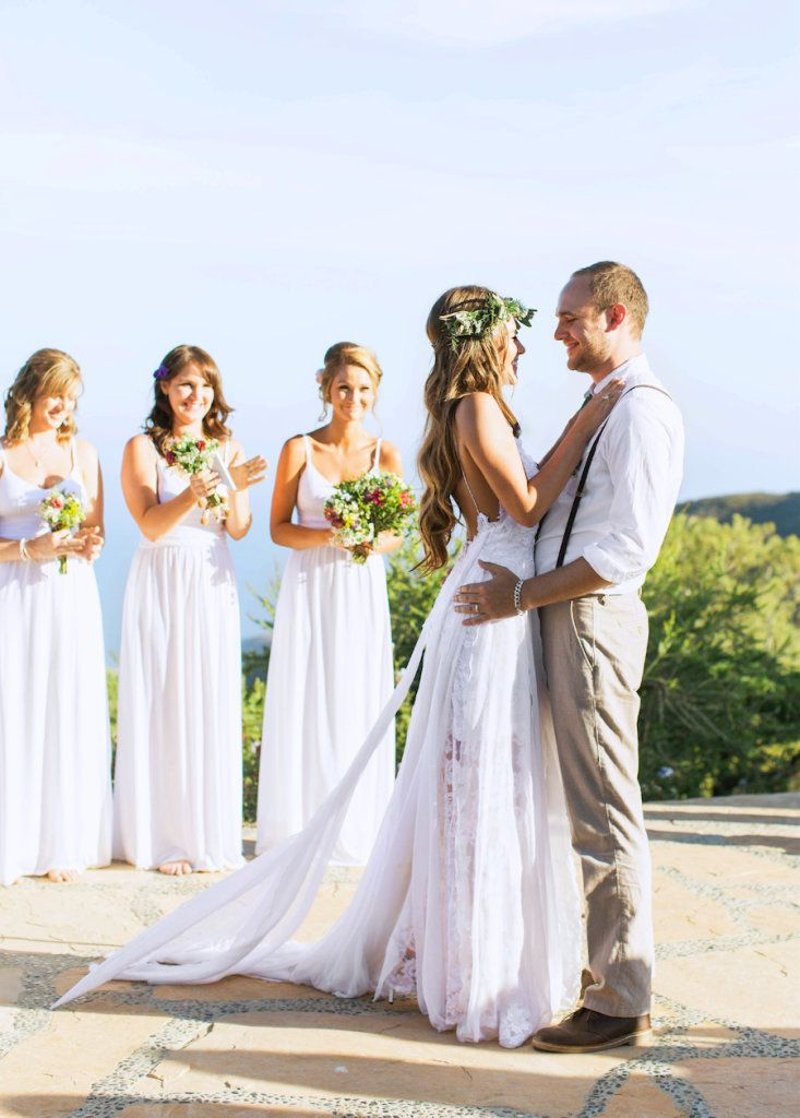 We love this photo of Kelsey and Kyle. Kelsey wears Grace Loves Lace Hollie dress. See their full wedding at http://graceloveslace.com.au/real-weddings/ xx