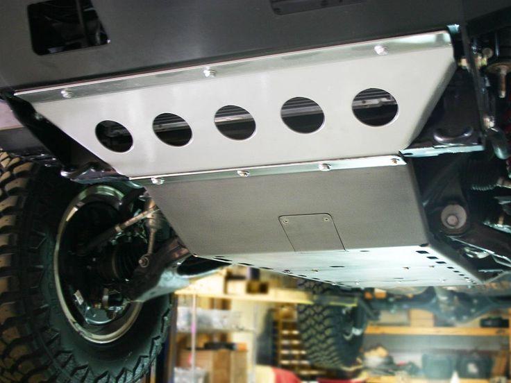 5th generation 4Runner skid plates.