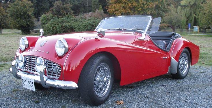 Restored 1958 Triumph TR3A | Bring a Trailer