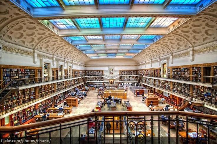 La Mitchell Library a Sidney, in Australia.