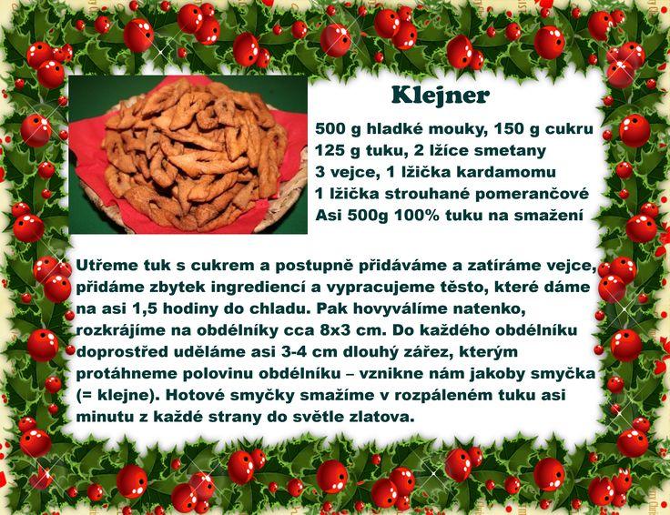 Klejner - Dánské cukroví