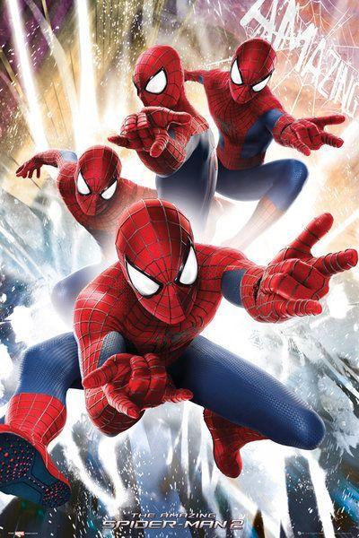 Niesamowity Spiderman 2 - Spider-Man - plakat - 61x91,5 cm  Gdzie kupić? www.eplakaty.pl