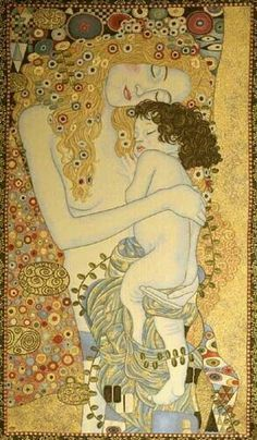 Klimt Mom and Youngster