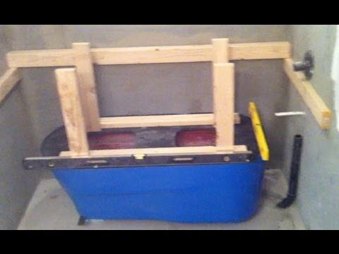 ▶ Making a Concrete Bath Tub Part 1- Setup - YouTube