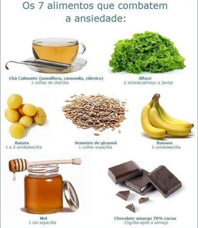 Combater a ansiedade com os alimentos certos