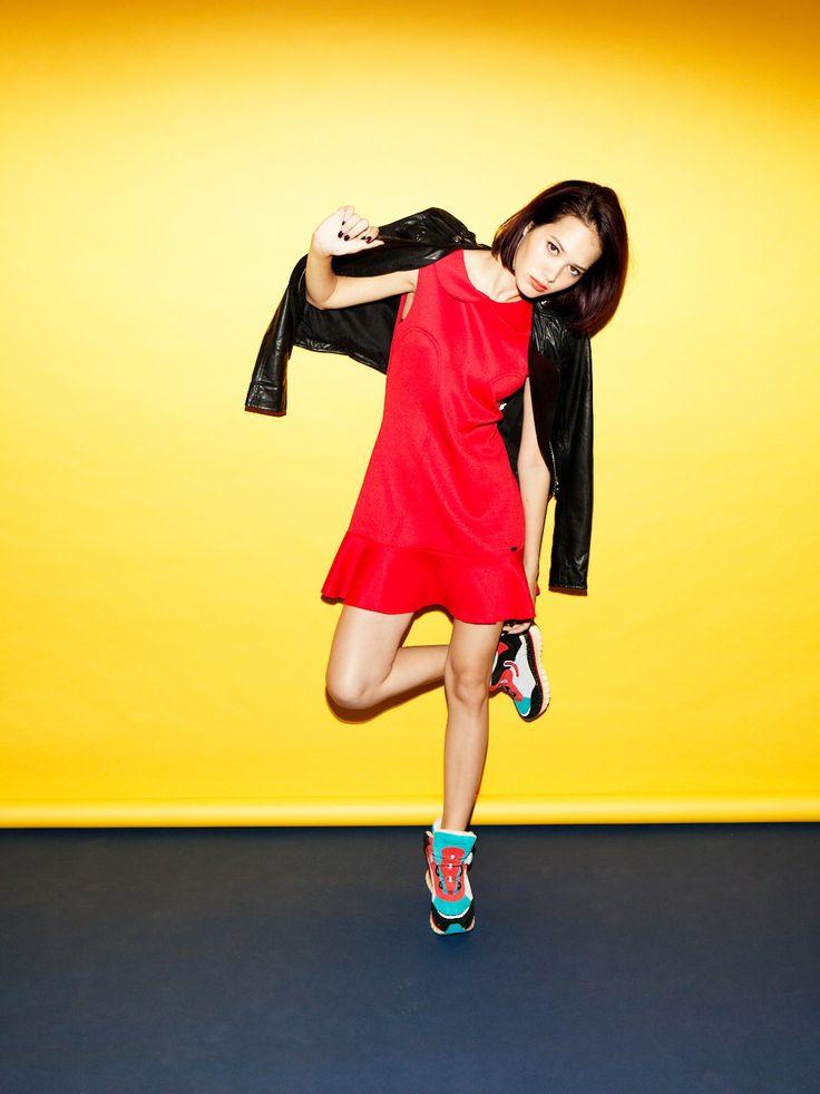 Fornarina total look on Nylon Japan - November 2013 issue