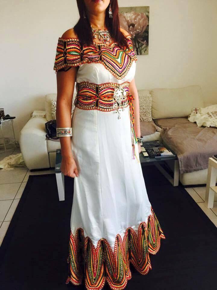 robe kabyle moderne robe kabyle robe