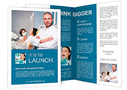 30 Best Dental Brochure Designs Images On Pinterest Brochure