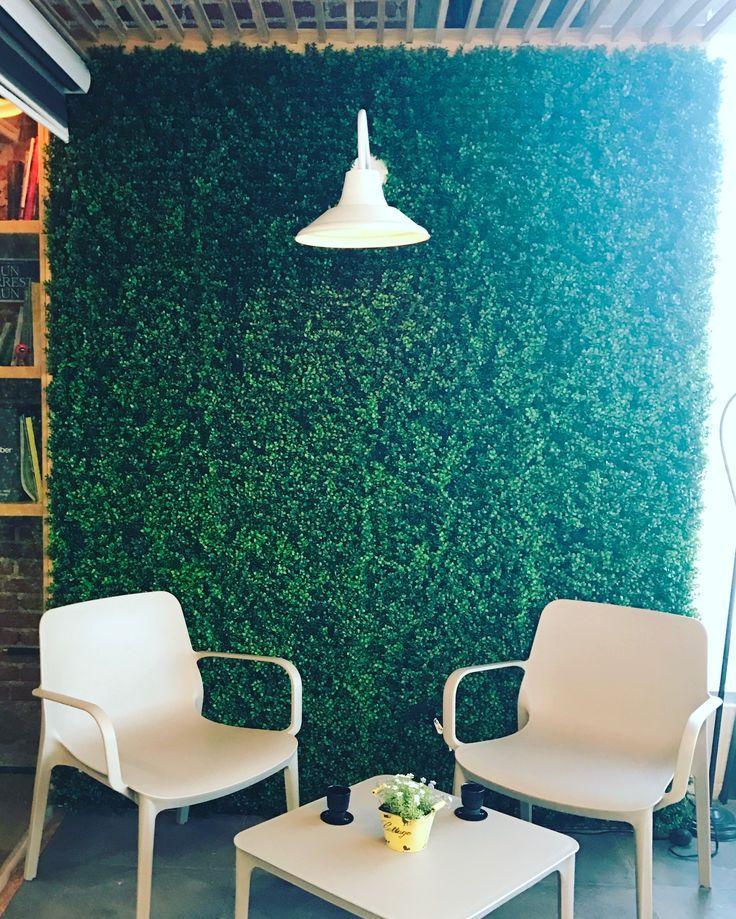 M s de 25 ideas incre bles sobre follaje artificial en - Como hacer un muro verde ...